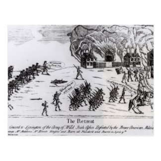 The Retreat, published 1775 Postcard