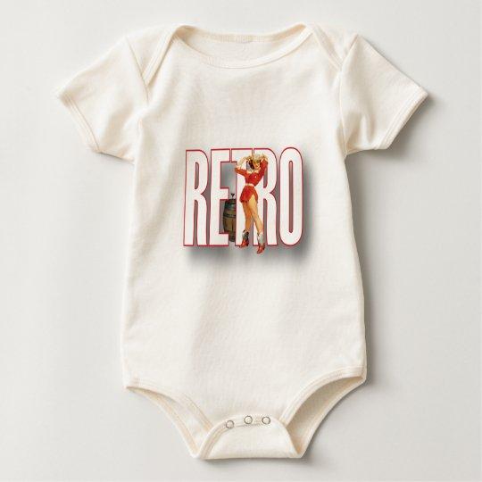 The RETRO Brand Baby Bodysuit