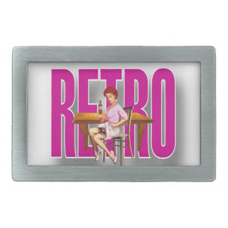 The RETRO Brand Rectangular Belt Buckles