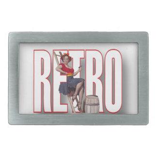 The RETRO Brand Rectangular Belt Buckle