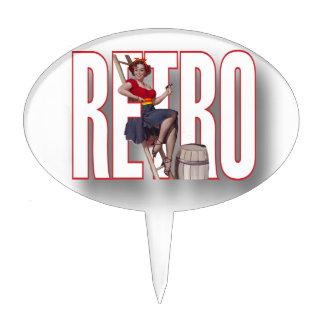 The RETRO Brand Oval Cake Picks