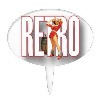 The RETRO Brand Cake Picks