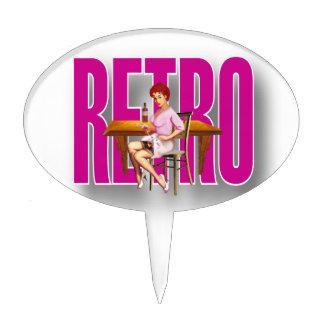 The RETRO Brand Cake Pick
