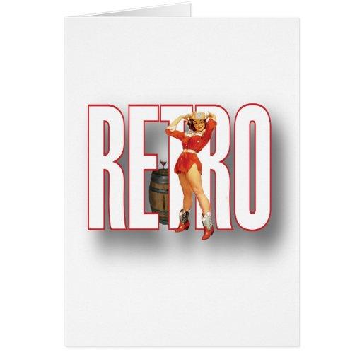 The RETRO Brand Card
