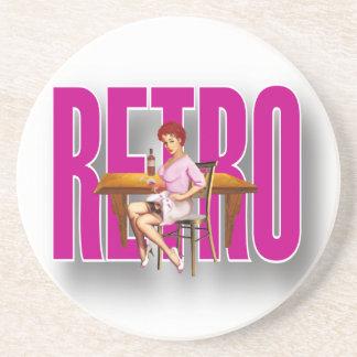 The RETRO Brand Coaster