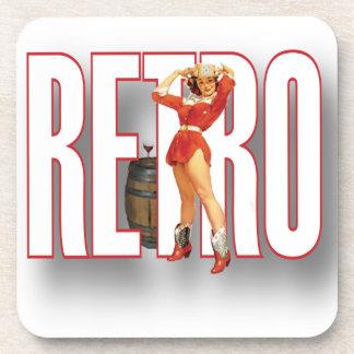 The RETRO Brand Beverage Coaster