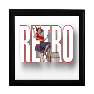 The RETRO Brand Keepsake Box