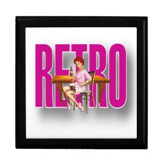 The RETRO Brand Keepsake Boxes