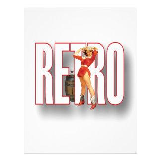 The RETRO Brand Letterhead