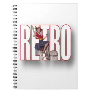 The RETRO Brand Spiral Notebook
