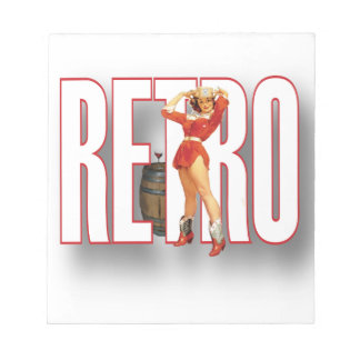The RETRO Brand Notepads