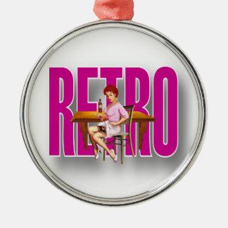 The RETRO Brand Ornaments