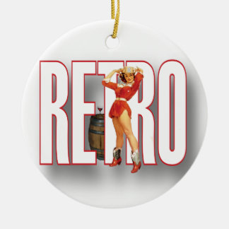 The RETRO Brand Christmas Ornaments