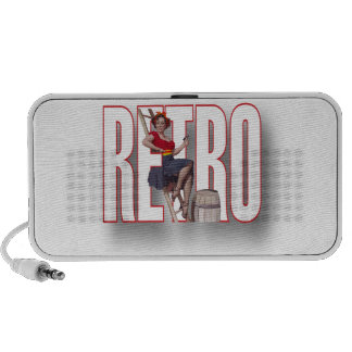 The RETRO Brand Travel Speaker