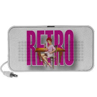 The RETRO Brand Notebook Speakers