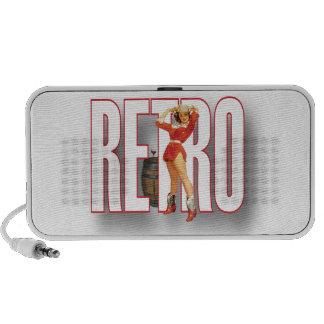 The RETRO Brand Portable Speakers