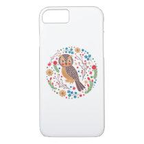 The Retro Horned Owl iPhone 8/7 Case