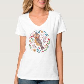 The Retro Horned Owl T-Shirt