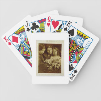 The Return after Three Days, c.1865 (sepia photo) Bicycle Playing Cards