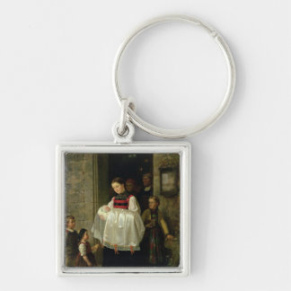 The Return from the Christening Keychain