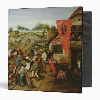The Return from the Kermesse (oil on panel) Binder