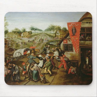 The Return from the Kermesse (oil on panel) Mouse Pad