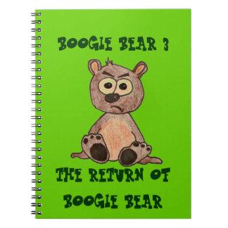 The return of boogie bear notebooks