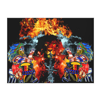 The Return of JAH Canvas Print