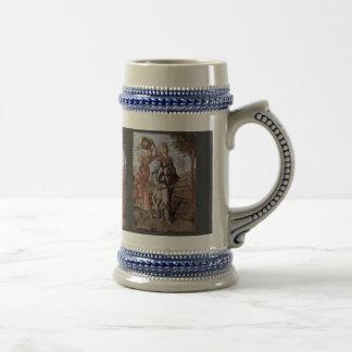The Return Of Judith To Bethulia By Botticelli Coffee Mug