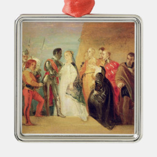 The Return of Othello, Act II, Scene ii from 'Othe Metal Ornament