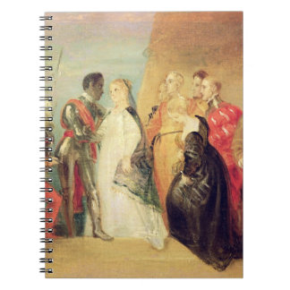 The Return of Othello, Act II, Scene ii from 'Othe Spiral Note Book