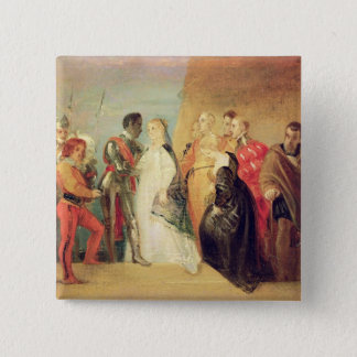 The Return of Othello, Act II, Scene ii from 'Othe Pinback Button