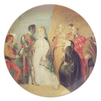 The Return of Othello, Act II, Scene ii from 'Othe Plate