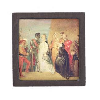 The Return of Othello, Act II, Scene ii from 'Othe Premium Trinket Box