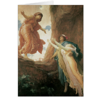 The Return of Persephone by Frederic Leighton Greeting Card