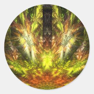 The Return of Quetzalcoatl Classic Round Sticker