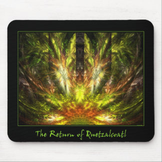 The Return of Quetzalcoatl Mouse Pad