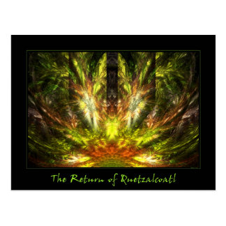 The Return of Quetzalcoatl Postcard