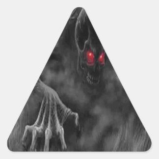 The Return of Seth Triangle Sticker