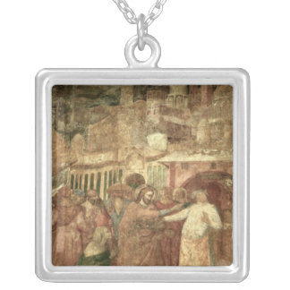 The Return of St. Ranieri, mid 14th century Silver Plated Necklace