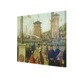 The Return of the Ambassadors, from the St. Ursula Canvas Print