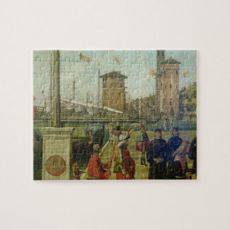 The Return of the Ambassadors, from the St. Ursula Jigsaw Puzzle