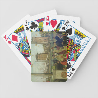 The Return of the Ambassadors, from the St. Ursula Bicycle Playing Cards