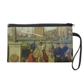 The Return of the Ambassadors, from the St. Ursula Wristlet Purse