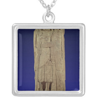 The Return of the Crusader Square Pendant Necklace