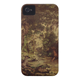 The Return of the Deer to the Stream at Plaisir Fo iPhone 4 Cover