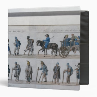 The return of the defeated French army from 3 Ring Binder