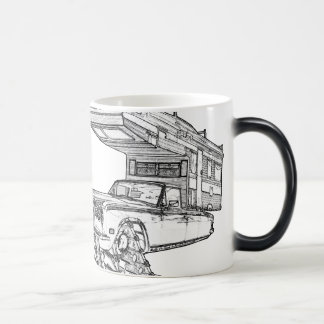 The Return of The Happy Camper Rolls On Tracks™ 11 Oz Magic Heat Color-Changing Coffee Mug
