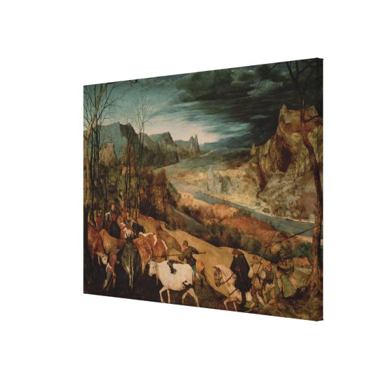 The Return of the Herd  1565 Canvas Print
