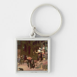 The Return of the Prodigal Son, 1862 Keychain